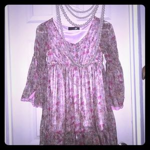 Tops - BoHo gypsy style blouse shimmery